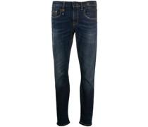 Halbhohe 'Boy' Skinny-Jeans