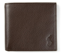 small embossed logo wallet