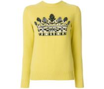 sequin embellished jumper