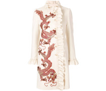 Mantel mit Drachenstickerei