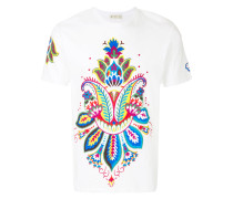 floral paisley T-shirt