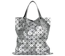 Schultertasche mit geometrischem Muster
