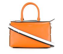 - Handtasche mit Kontrasteinsätzen - women