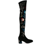Garavani 'Astro Couture' Overknee-Stiefel