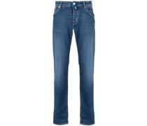 Halbhohe Slim-Fit-Jeans