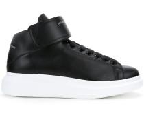 High-Top-Sneakers mit Kontrastsohle