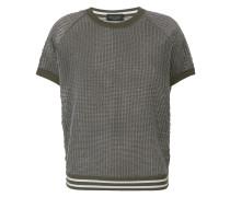 sheer knit T-shirt
