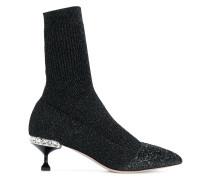 sock knit boots