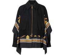 Harrington-Jacke mit Schaldetail