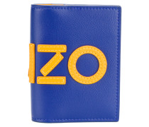 colourblock logo cardholder