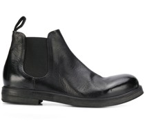 Chelsea-Boots aus gekörntem Leder