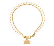 'Lotus Biography' Armband mit Diamanten und