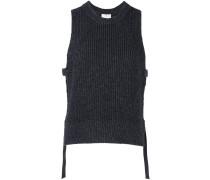 side tie knit vest