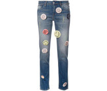 Robert Montgomery Jeans mit Patches