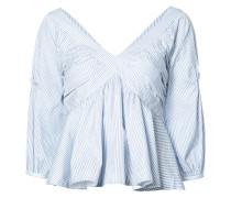 'Crisscross Babydoll' Bluse