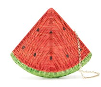 Watermelon Clutch aus Stroh