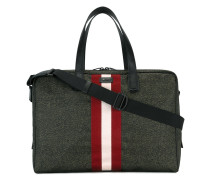 Reisetasche mit Kontraststreifen