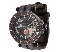 'V Race Camo Diver' Armbanduhr