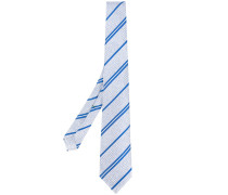 striped print tie - men - Seide - Einheitsgröße