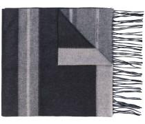 Schal mit Streifen