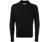 Pullover mit Poloshirt-Kragen