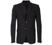 Zweiteiliger Anzug mit Jacquard-Muster