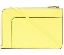 - neon zipped crossbody bag - women - Leder