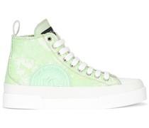 Portofino High-Top-Sneakers mit Pailletten