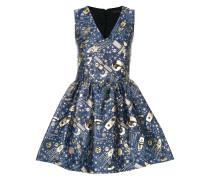 Ausgestelltes Jacquard-Kleid