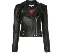 Cropped-Jacke im Biker-Look - women