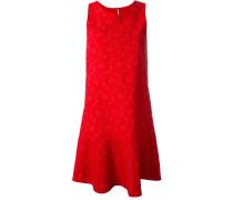 Jacquard-Kleid mit Spitzenmuster
