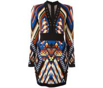 Kleid mit Inka-Muster - women - Viskose - 36