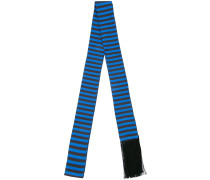 striped skinny scarf
