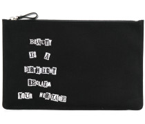 Reclaim Your Heritage clutch bag