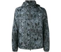butterfly print jacket