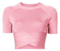 Enganliegendes Cropped-Top