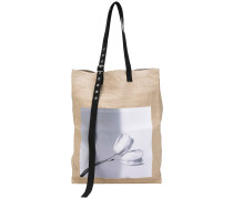 x Robert Mapplethorpe Shopper mit Foto-Print