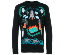 Pullover mit Illustration