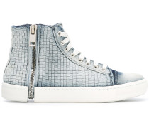 Sneakers mit Reißverschlussdetail