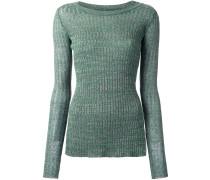 Pullover mit Schlitz