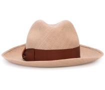 - Trilby-Hut mit Zierband - women - Stroh - 56