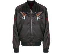 eagle patch bomber jacket