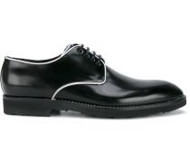 Derby-Schuhe mit Paspelierung