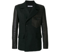 panelled tailored jacket