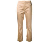 - cuffed trousers - women - Polyester/Elastan - 42