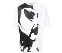 T-Shirt mit Scowl-Print