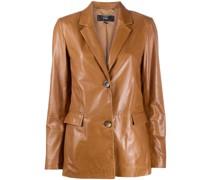 Sema leather blazer