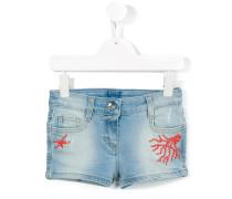 Jeans-Shorts mit Nieten - kids