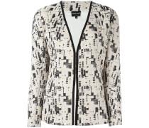 embroidery detail blazer