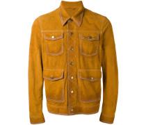 Jacke mit vier Taschen - men - Kalbsleder - 54
